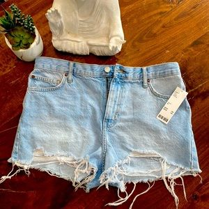 NWT Urban Outfitters Girlfriend High-Rise Shorts